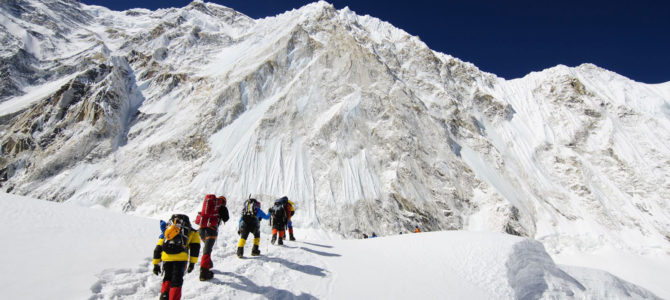 Climbing Everest Base Camp