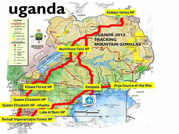 Uganda Tourist Information Guide Safari Uganda Africa